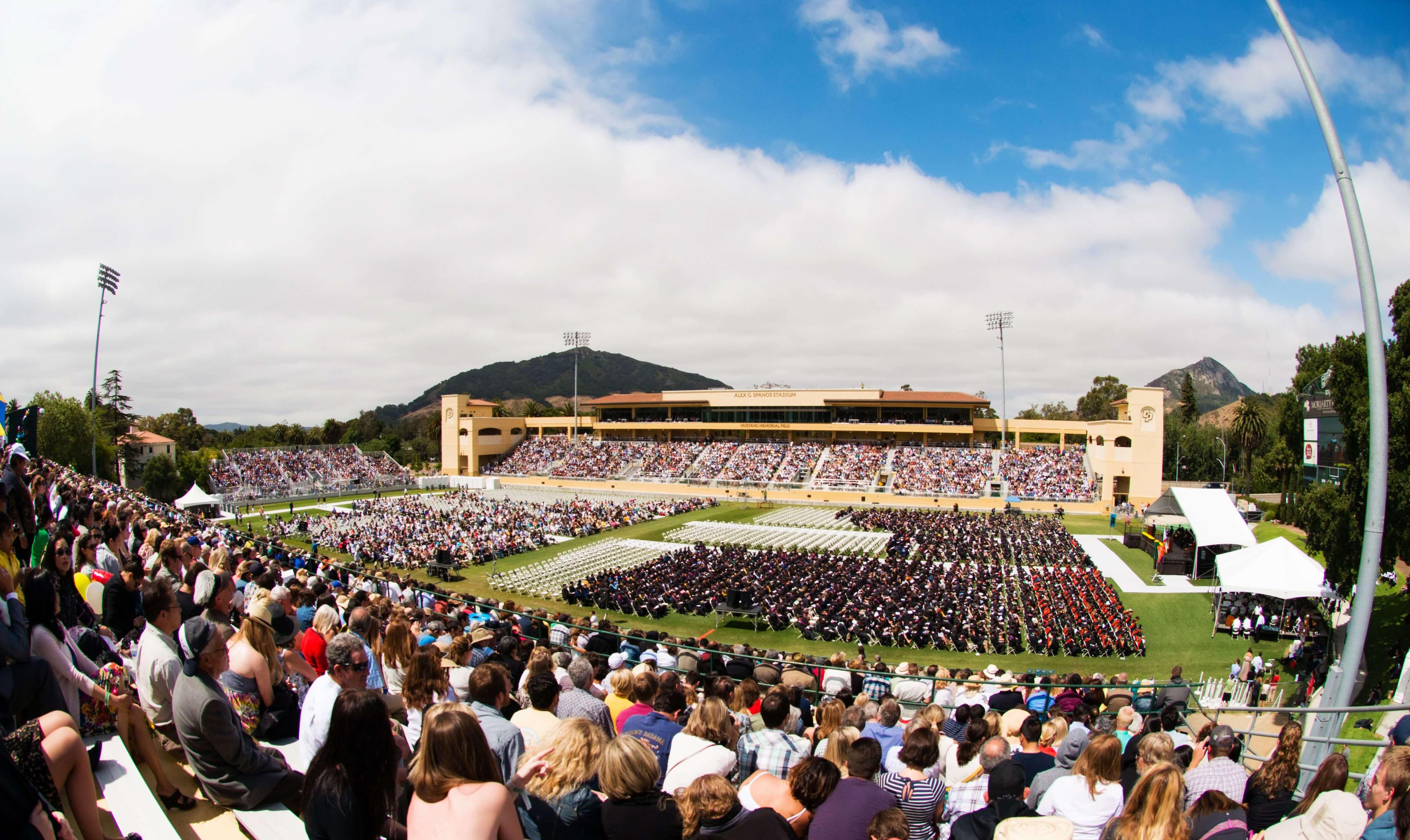 Cal Poly SLO Graduation