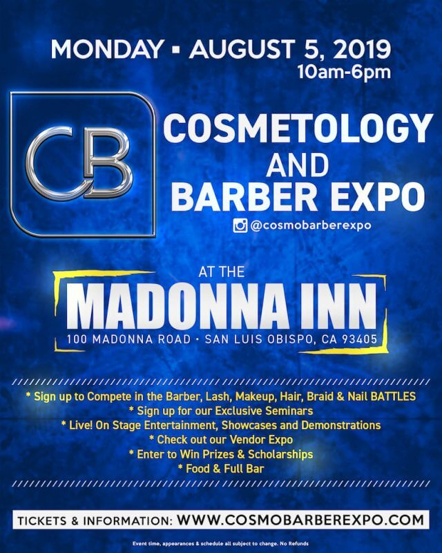 Cosmetology and Barber Expo - San Luis Obispo Vacations