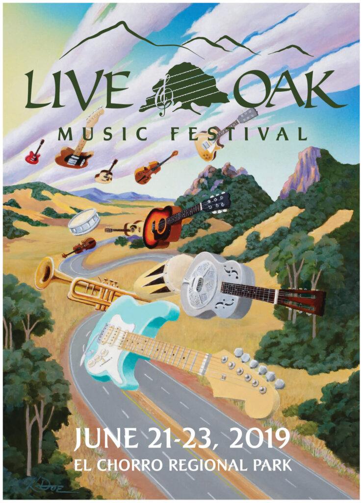 Live Oak Music Festival SLO 2019