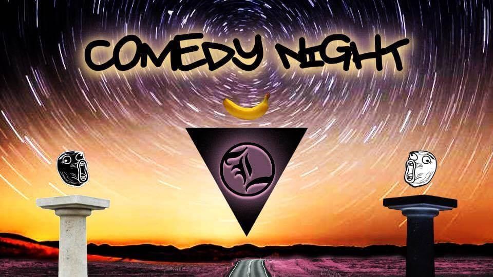 Libertine Brewing Company Comedy Night Flyer