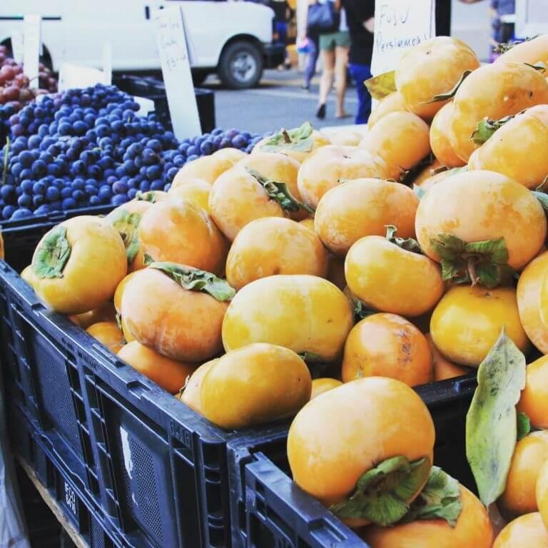 Downtown SLO Farmers' Market produce