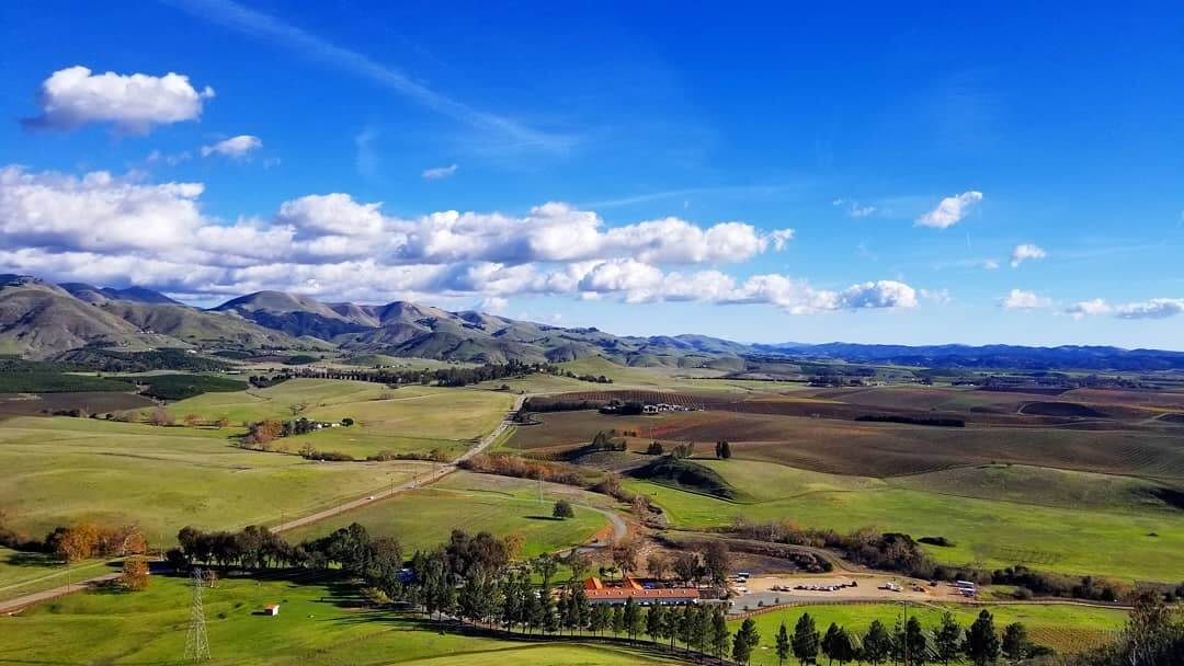 View of Edna Valley, San Luis Obispo
