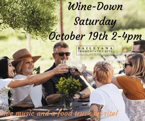 Wine down Saturday