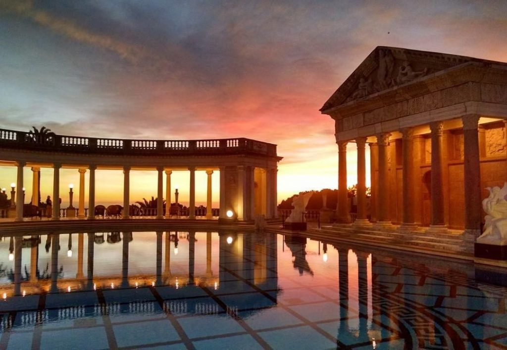 Hearst Castle's Neptune Pool
