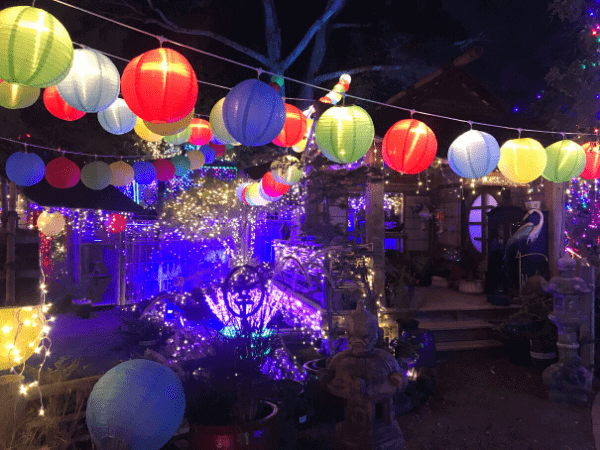 Japanese Garden at the Cambria Christmas Market