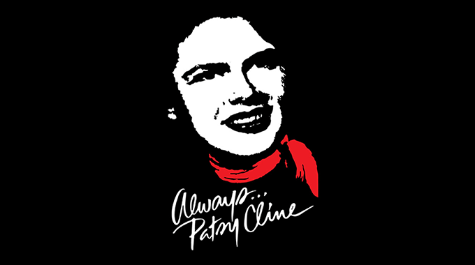 Always... Patsy Cline program image for the SLO Rep Theater.