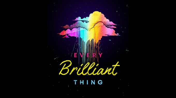 Every Brilliant Thing show poster.