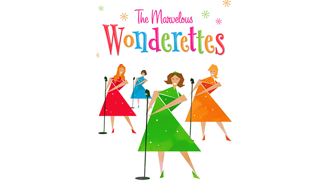 the marvelous wonderettes SLO Rep Theatre Poster