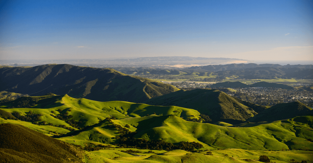Landscape view of San Luis Obispo