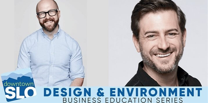 Business Education Series Design and environment segment. Speakers Joe Brown & Rhys Thom from IDEO