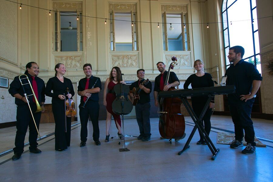 Yiddish Combo with instruments