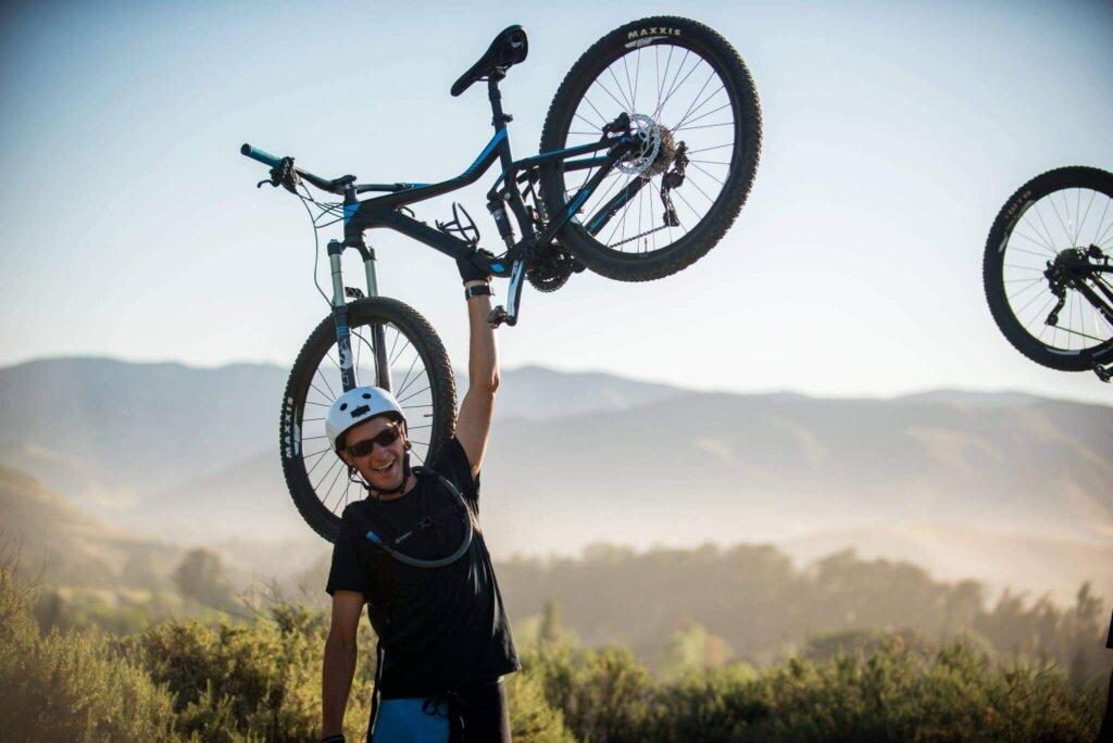 Biking in SLO