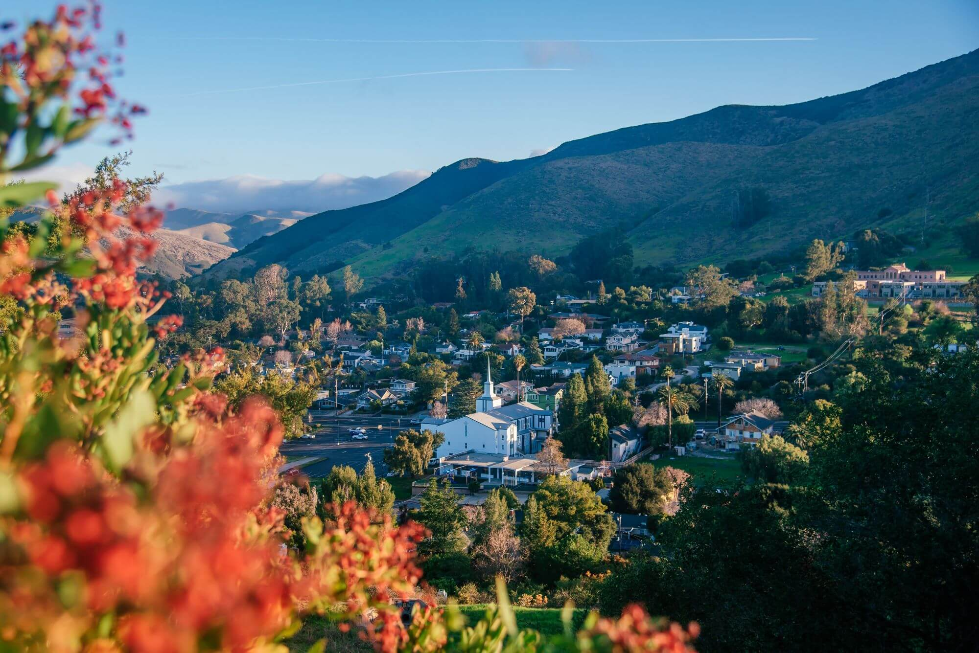 View of San Luis Obispo from Terrace Hill