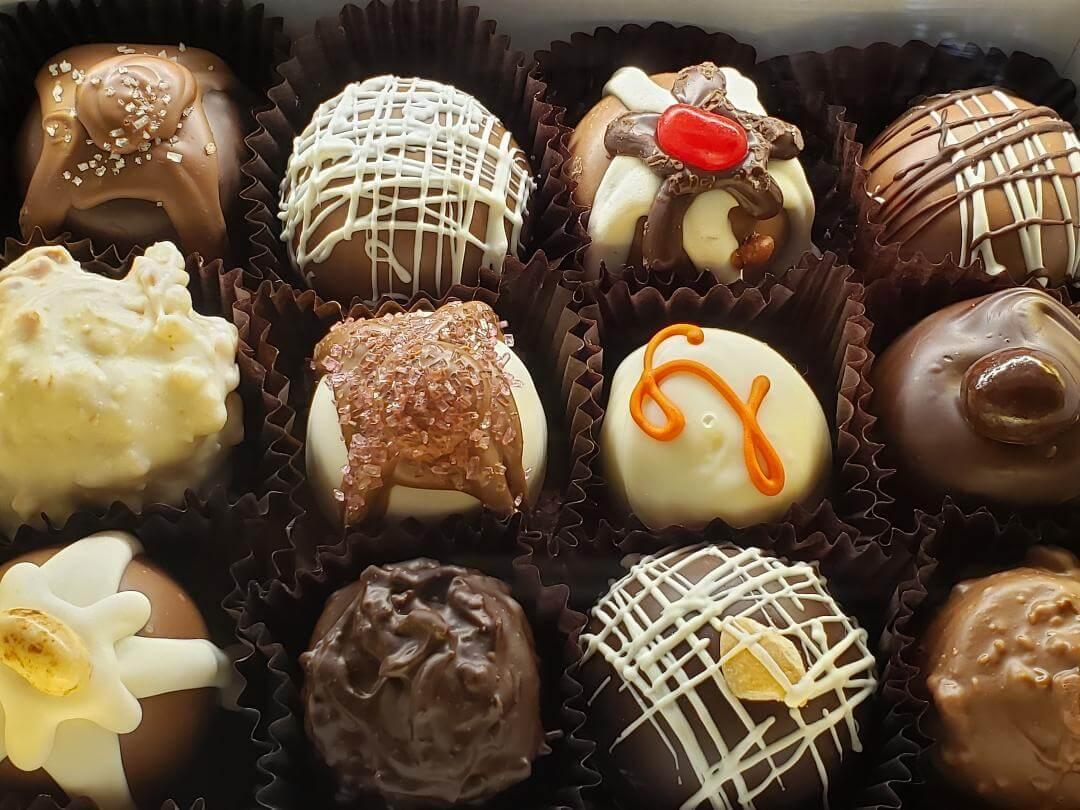 SLO Sweets Chocolate Truffles