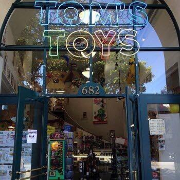 Tom's Toys Storefront